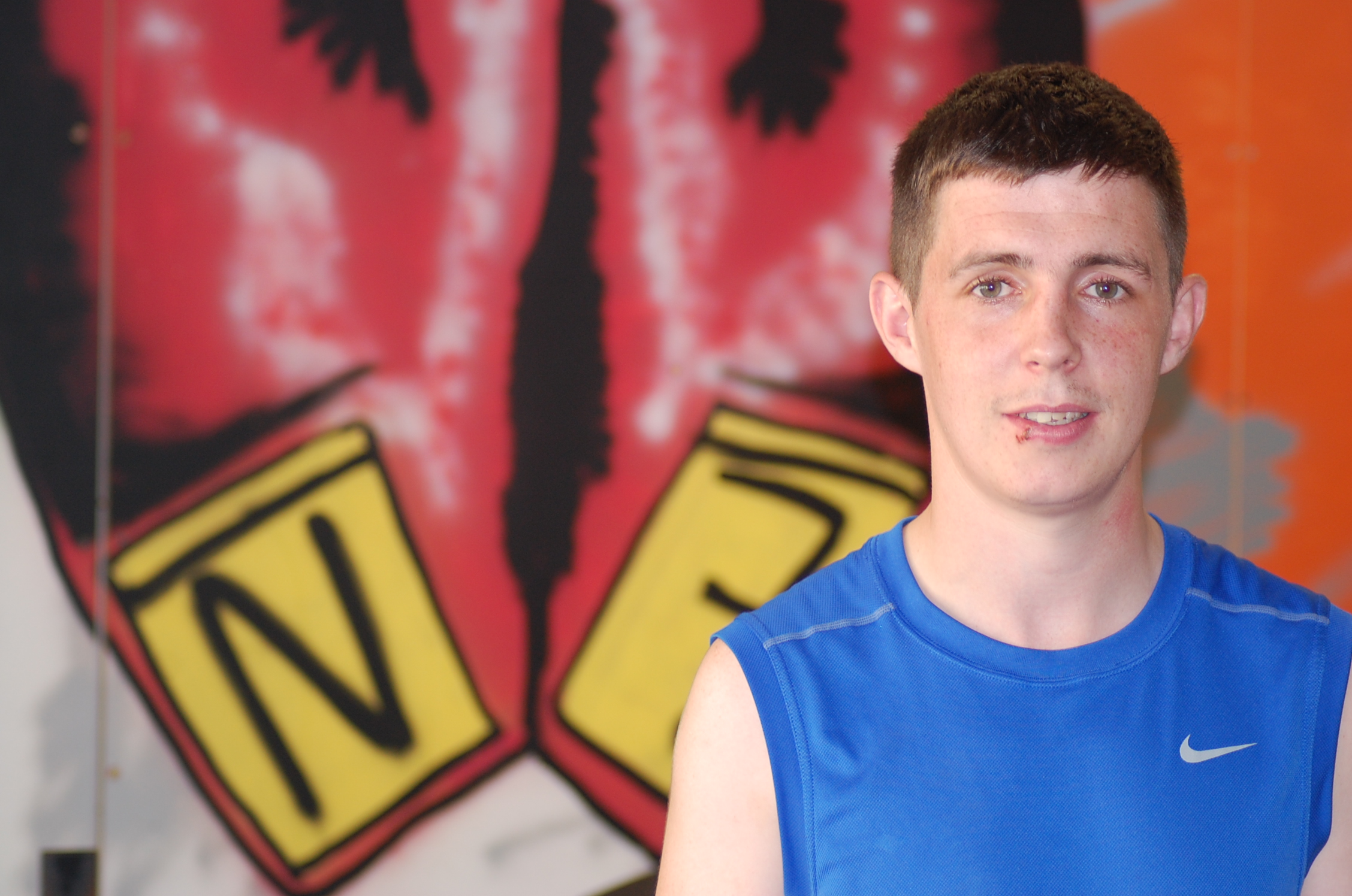 Carl McDonald Tallaght Boxer