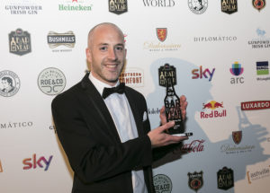 Donal-Walsh-Penny-Hill-Lucan Winner of Local Bar Awards at the Sky Bar of Year Awards 2017