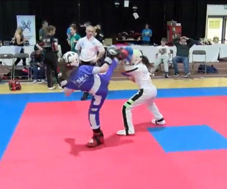 Lucan Kids Irish Kickboxing Team