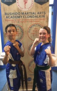 Amy Zach Lucan Kids Irish Boxing Team