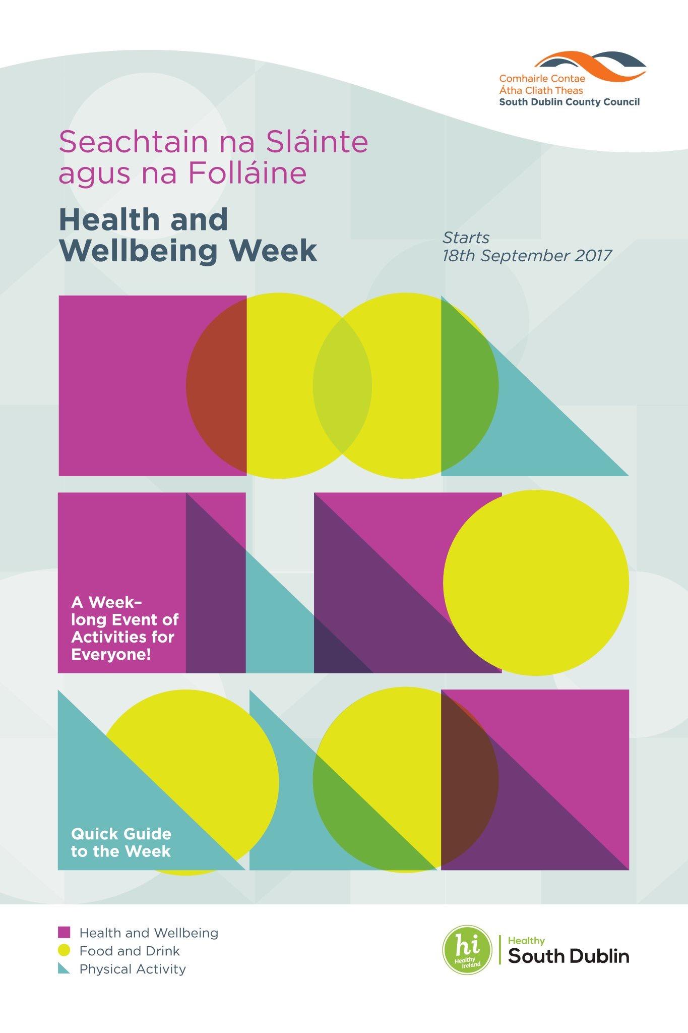 Health wellbeing week 2017