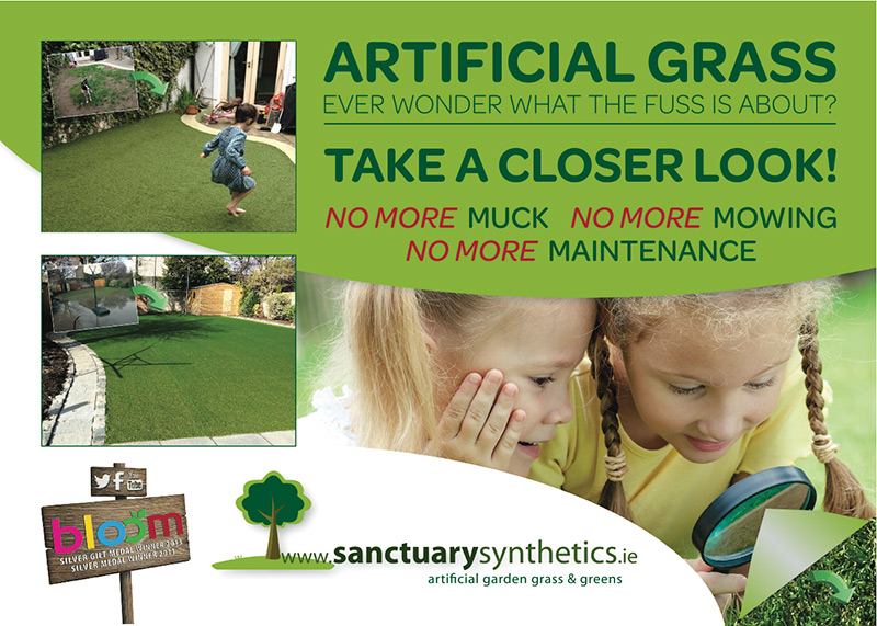 Sanctuary Synthetics - Artificial Garden Grass