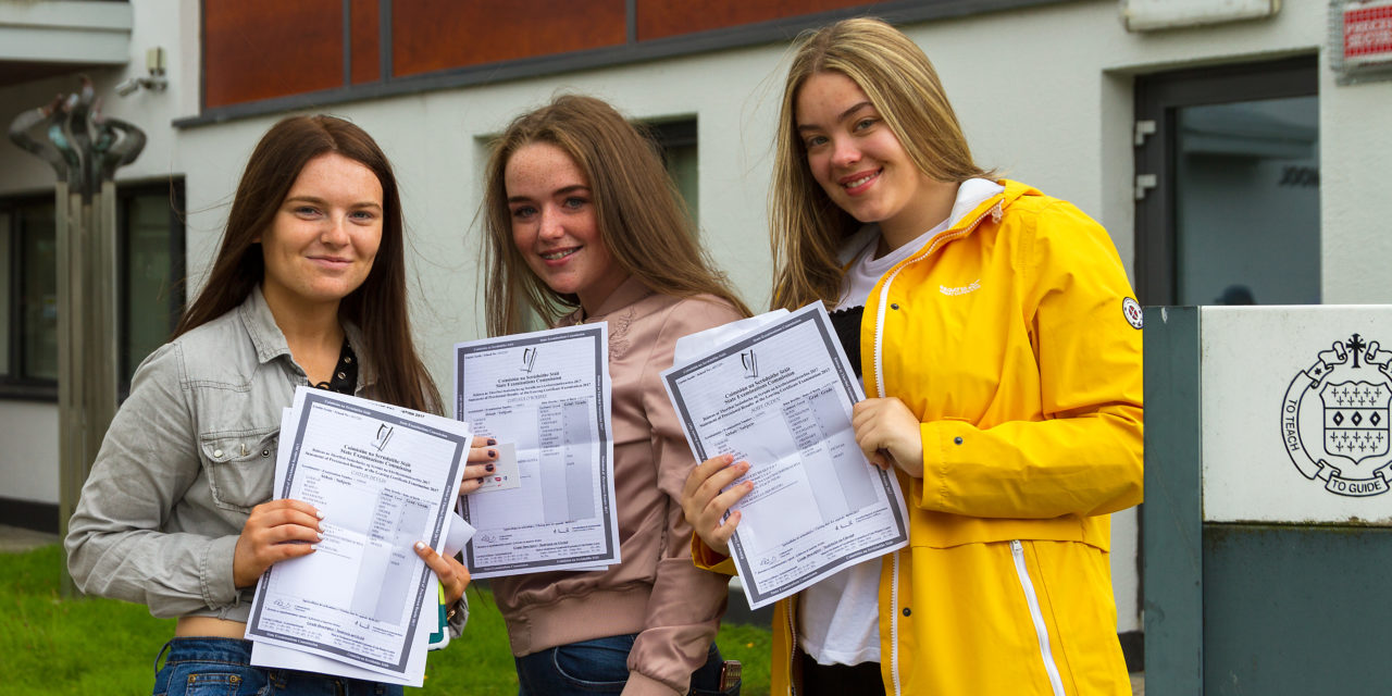 Tallaght & Clondalkin Students Receiving Leaving Certificate Results 2017