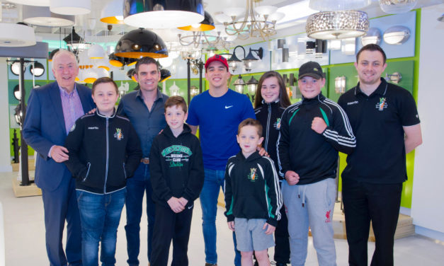 Fantasy Lights Opens in Churchtown with Michael Conlon and Bernard Dunne