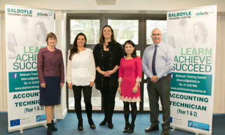 Dublin Training Centre has received a prestigious award from Accounting Technicians Ireland (ATI)
