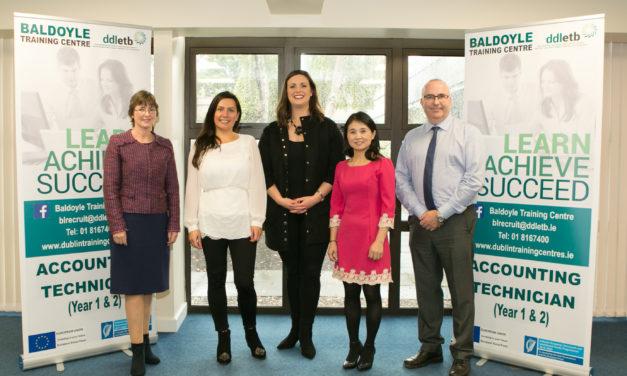 Dublin Training Centre has received a prestigious award from Accounting Technicians Ireland (ATI)