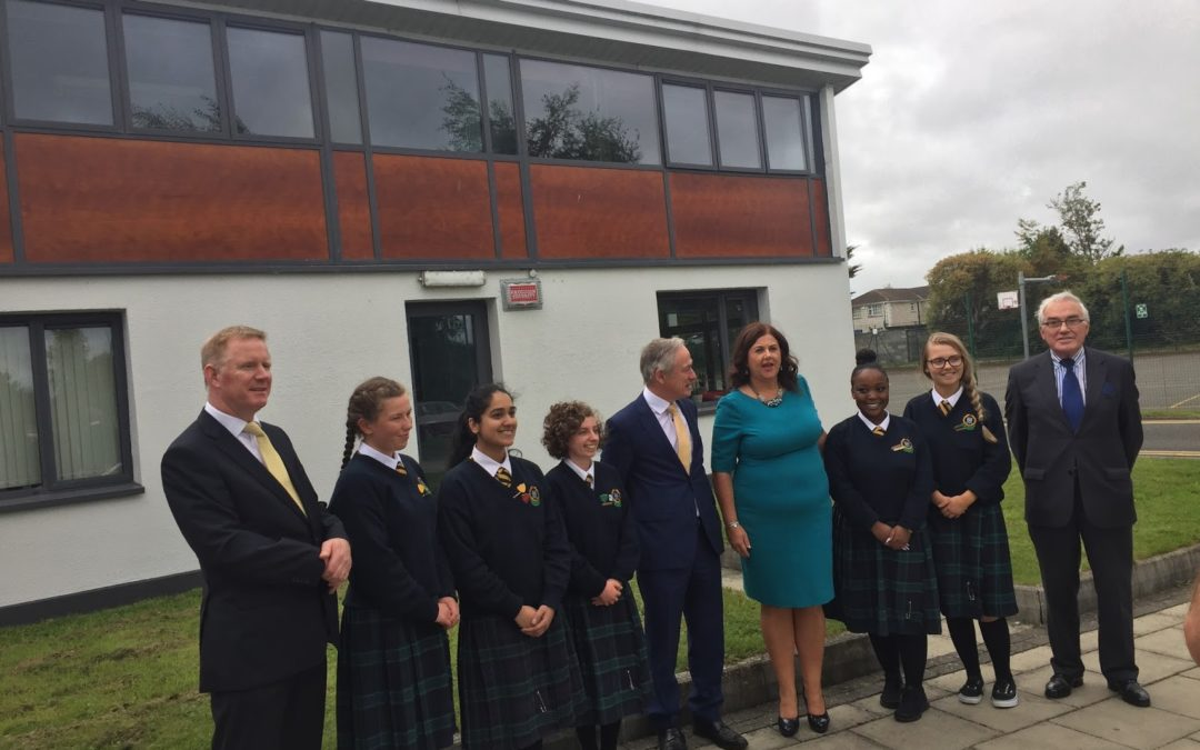 New Junior Cycle specifications for Irish, Modern Foreign Languages and Visual Art launched in Clondalkin Secondary School