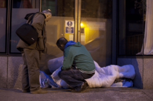 homeless simon community pic