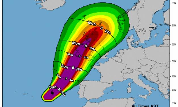 Storm Ophelia Updates Dublin
