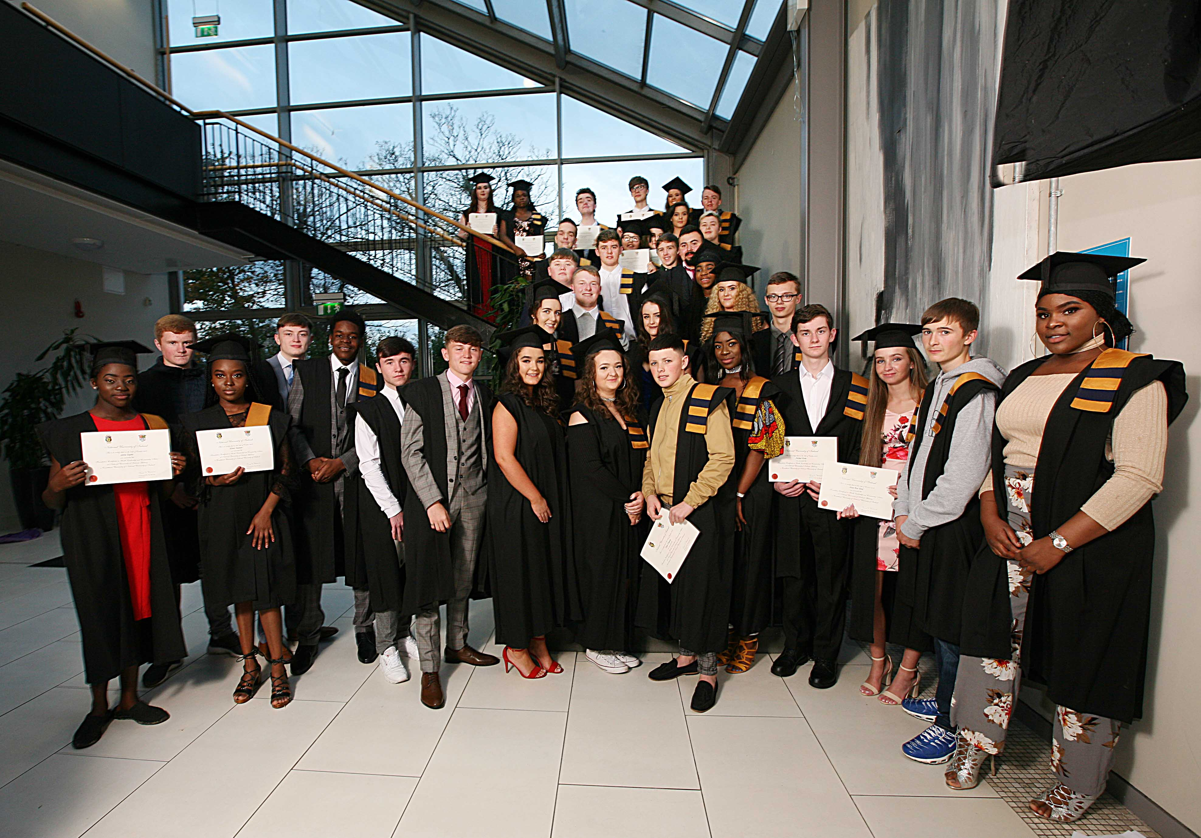 NUIG Graduations Tallaght Foroige