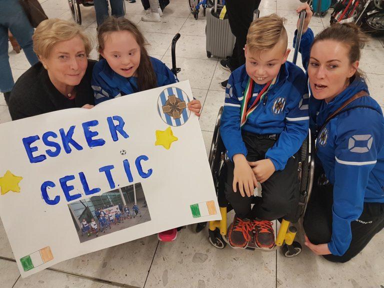 Esker Celtic Frame Football Team Lucan