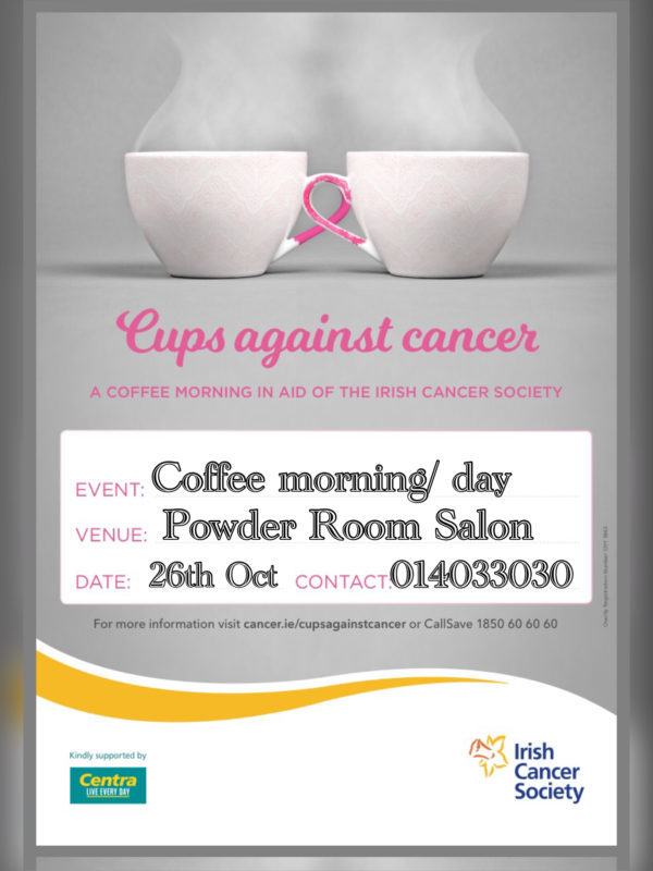 Cups Against Cancer Powder Room