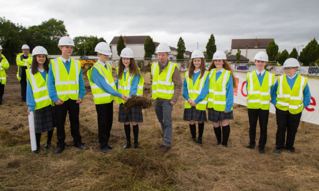 Turning The Sod at Kingswood Community College