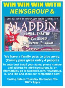 Aladdin Competition Mill Theatre