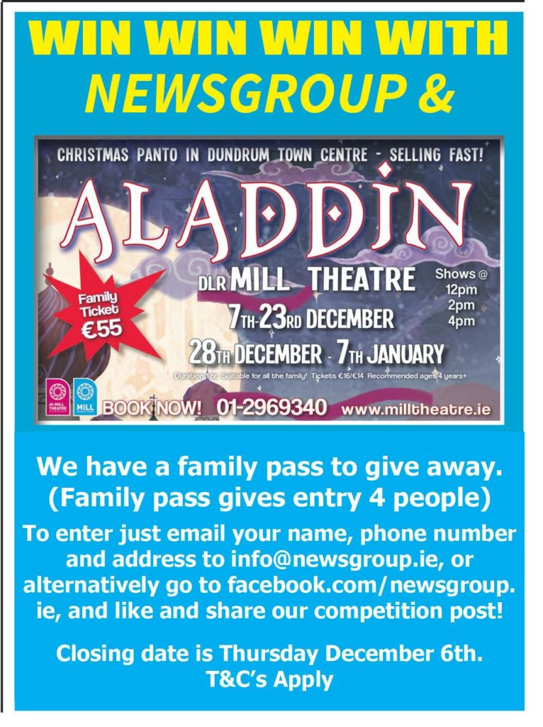 Aladdin Competition Mill Theatre