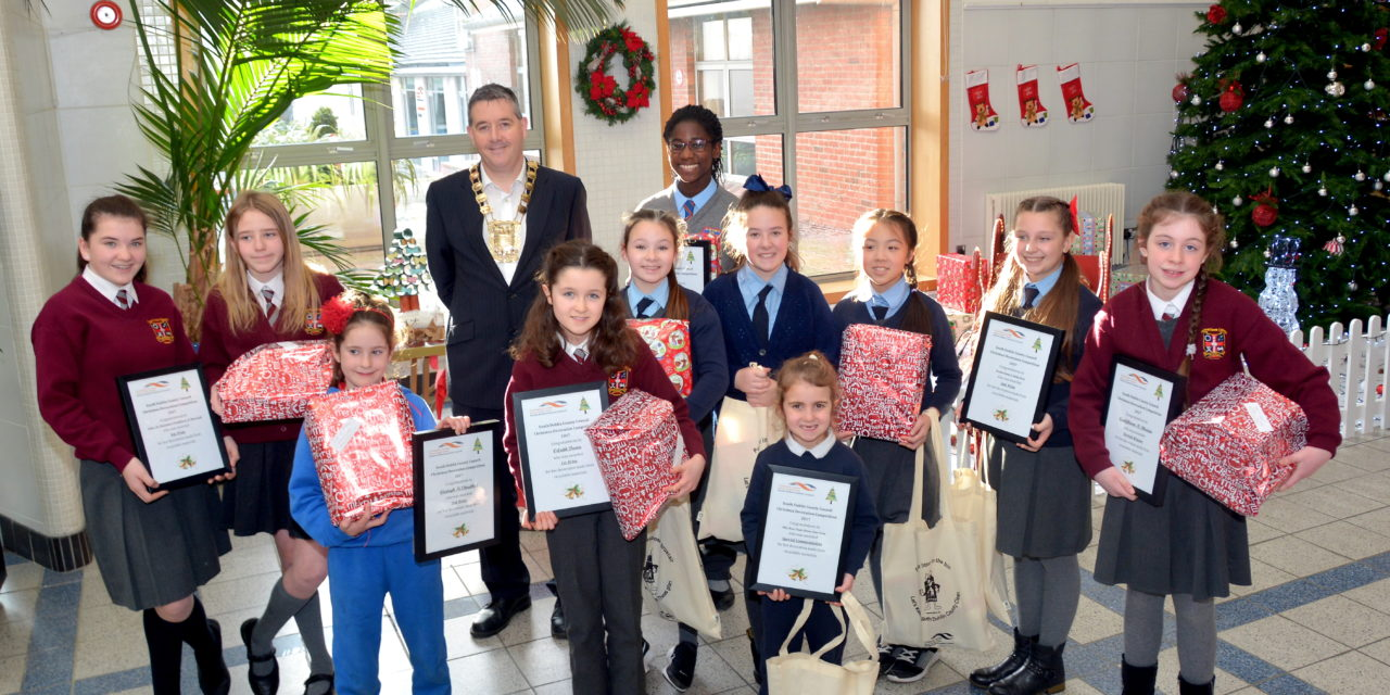 South Dublin County Council's Christmas Decoration Competition 2017