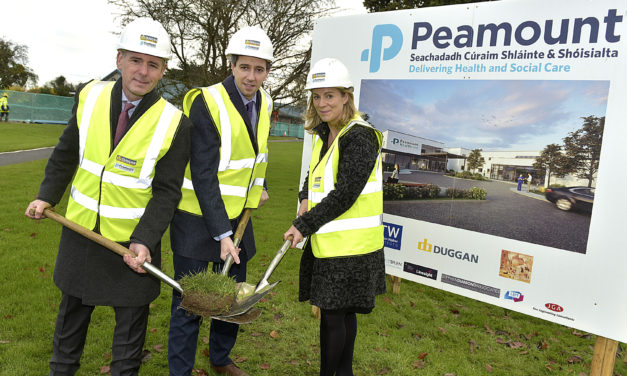 Peamount Healthcare Turning The Sod