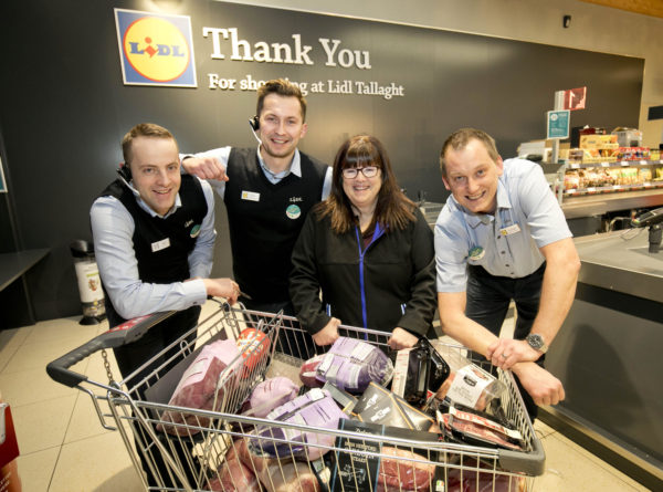 LIDL Tallaght Trolley Dash