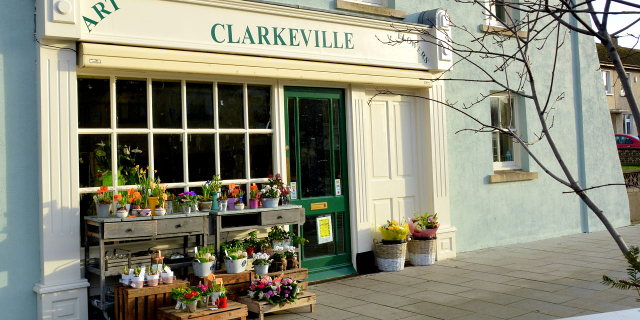 Clarkeville Arts and Flowers have been awarded €1,000 to upgrade the shopfront design