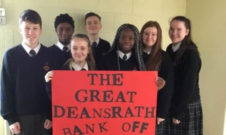 Clondalkin Students Shortlisted For Their Great Deansrath Bank Off