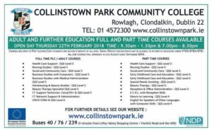 Collinstown Clondalkin Open Day