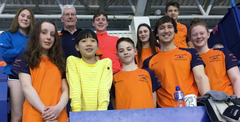 Tallaght Swim Team March 2018