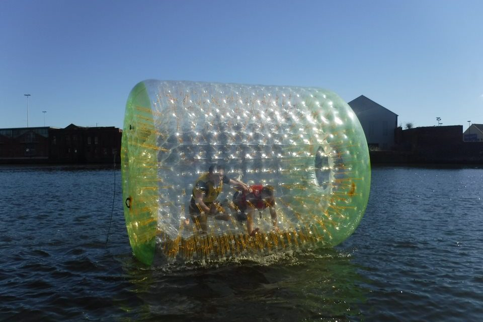 Up the Liffey in a Bubble Fundraiser for One In Four