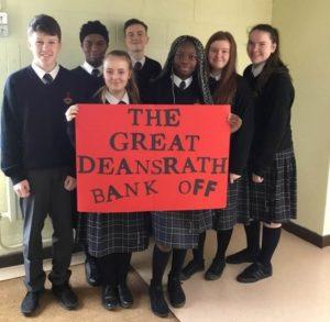 Deansrath Clondalkin School bank team