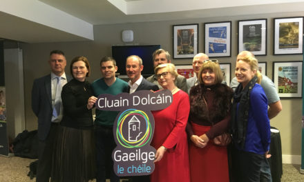 Official launch of Clondalkin as a 'Líonra Gaeilge