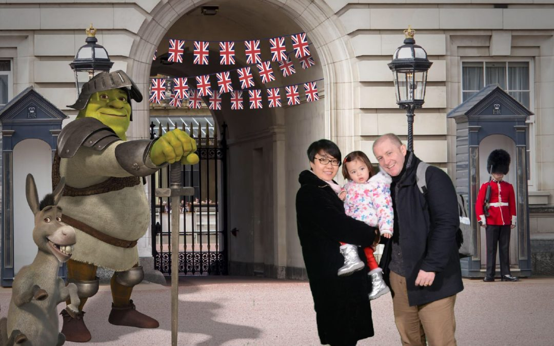 Dublin Dad Defeats the Beast from the East to Give Daughter Fairytale Ending in London
