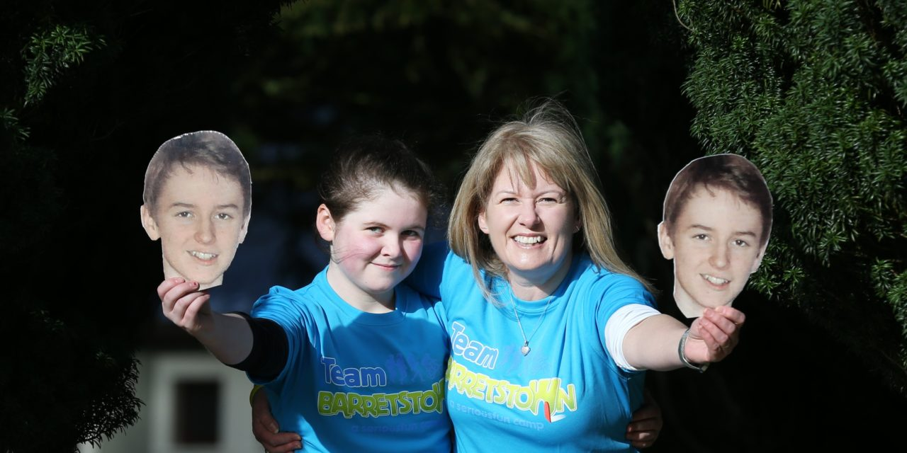 Barretstown mum Orla to lead Team Barretstown for the VHI Women's Mini Marathon this June