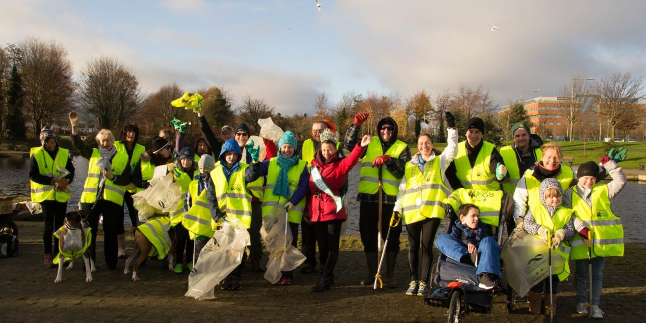 Tallaght Litter Mugs Launch Challenge Campaign