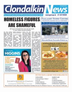Clondalkin News 2nd April