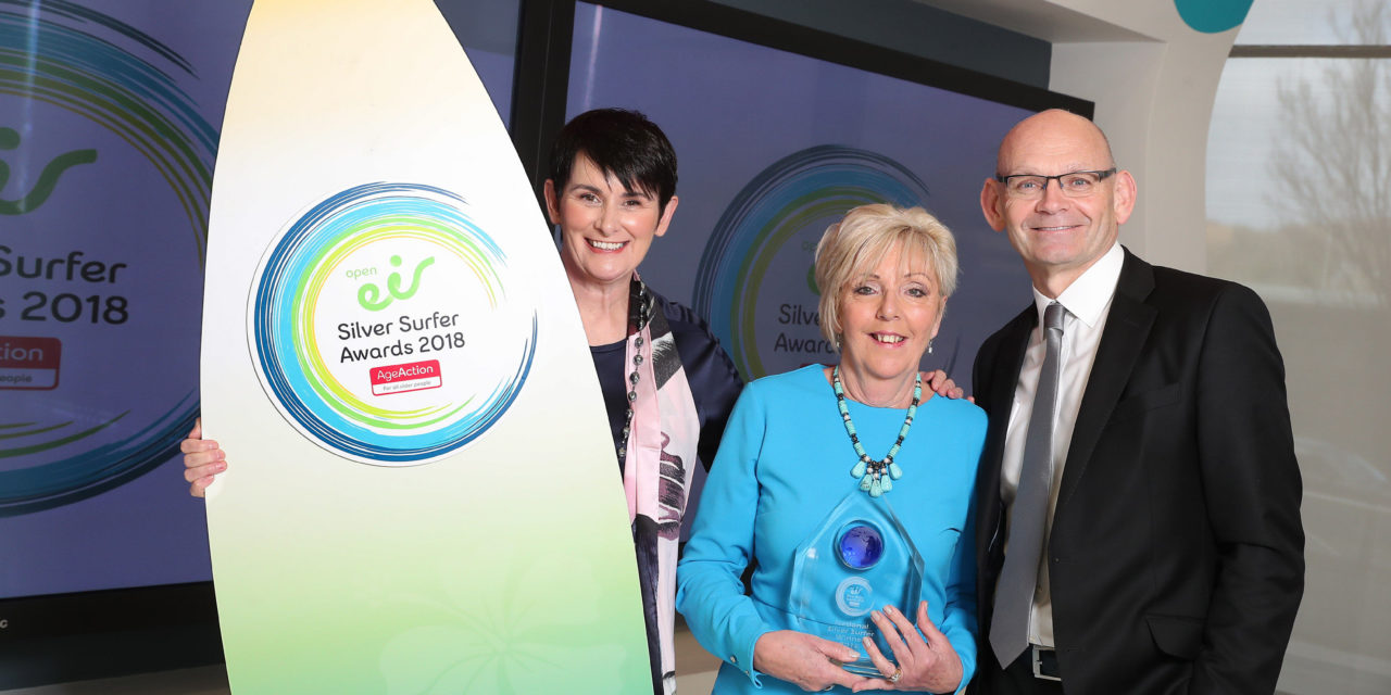 65-Year-Old Tallaght Craftsperson and Activist Receives Overall Award At 2018 open eir Silver Surfer Awards