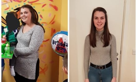 Rachel loses 4 stone 10.5 lbs with Slimming World Consultant Christine Tallaght