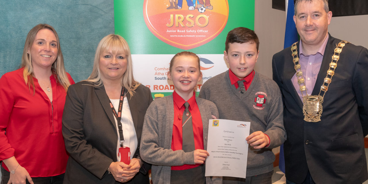 Thirty Junior Road Safety Officers 'Appointed' in South Dublin