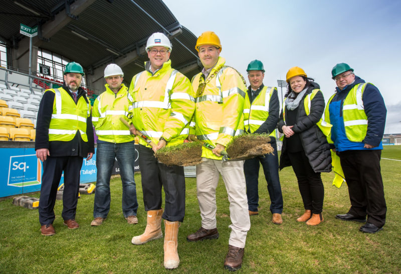 Tallaght Stadium Sod Turning