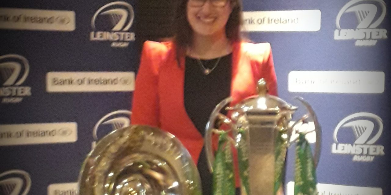 Clondalkin Rugby Club Welcome The Triple Crown and Grand Slam Trophies