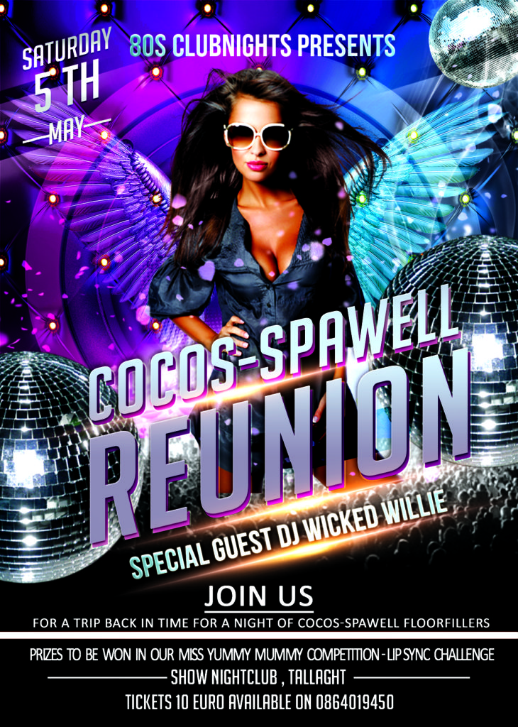 Cocos Spawell Tallaght Reunion