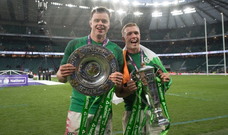 6 Nations Triple Crown Trophies Tallaght Leinster