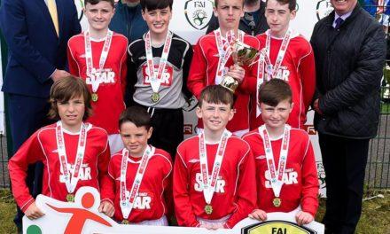 Gaelscoil Chluain Dolcain Win FAI Primary Schools 5's Leinster B Cup Champions