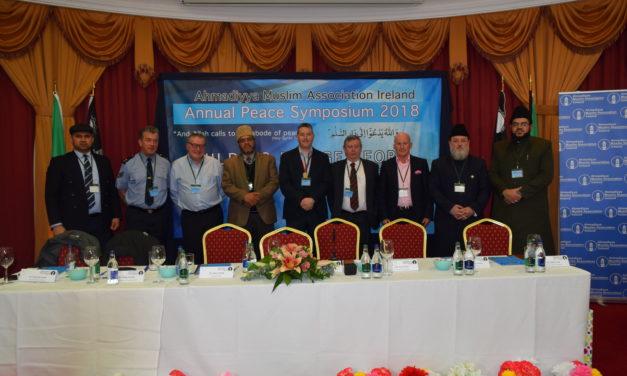 DUBLIN AHMADIYYA PEACE SYMPOSIUM 2018