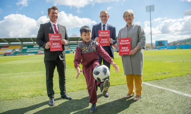 Tallaght gives racism the red card