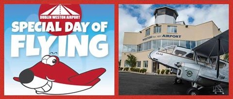 Weston's Special Day of Flying Lucan