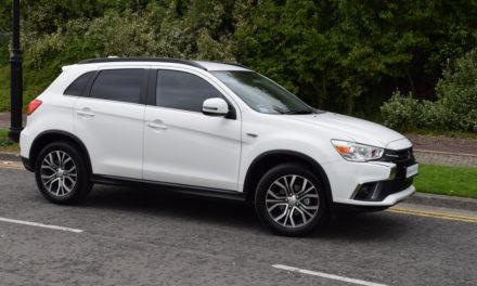 Mitsubishi's Worthy New ASX Crossover/SUV