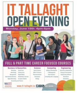 IT Tallaght Open Evening June