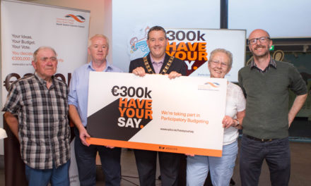 €300K – Have Your Say campaign at a results ceremony Clondalkin and Rathcoole