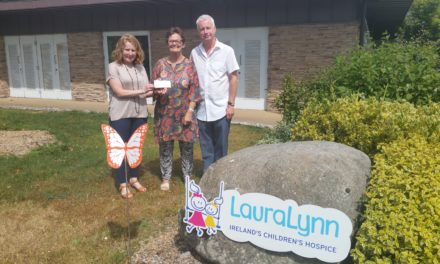 Killinardan Walkers Raise Funds Laura Lynn Children's Hospice