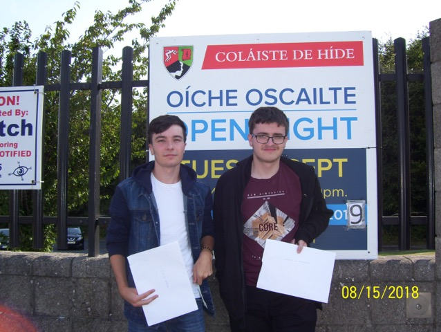 Leaving Certificate Results Tallaght Clondalkin Greenhills 2018