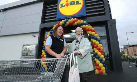 Lidl on Fortunestown Lane Reopens